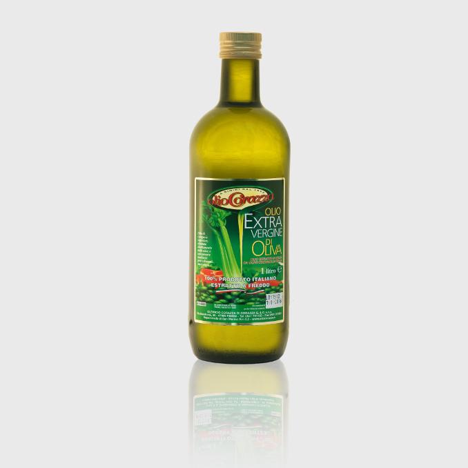 oev 100italiano 1l c - Bottiglia da 1 Litro, Olio extra vergine estratto a freddo