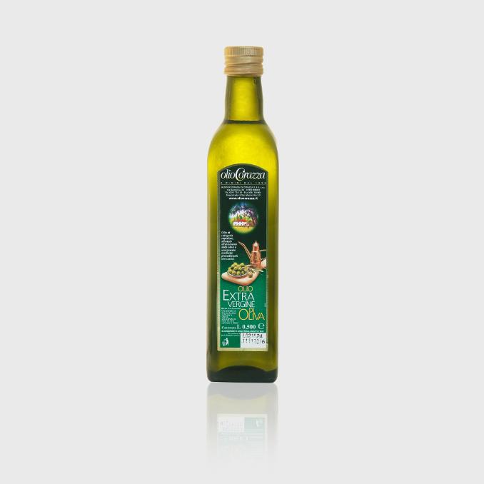 oev mediterraneo 05l q - Bottiglia da 0.500 lt., Extra Vergine d'Oliva mediterraneo