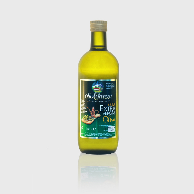 oev mediterraneo 1l c - Bottiglia da 1 Litro, Extra Vergine d'Oliva mediterraneo