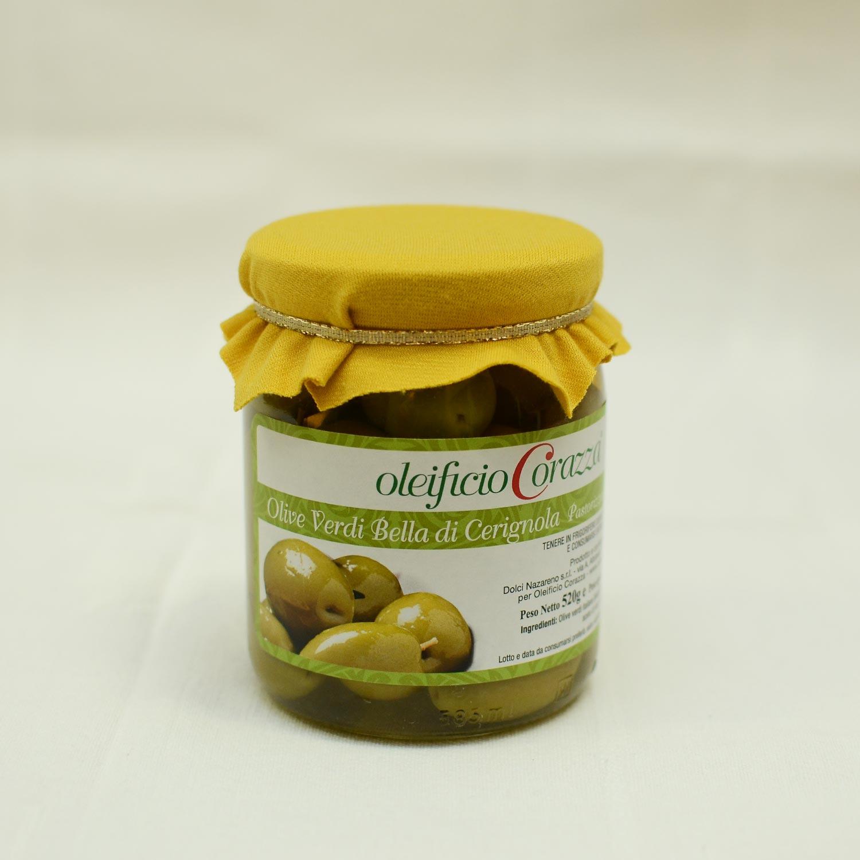 2 1 - Olive Verdi Bella di Cerignola - g 310