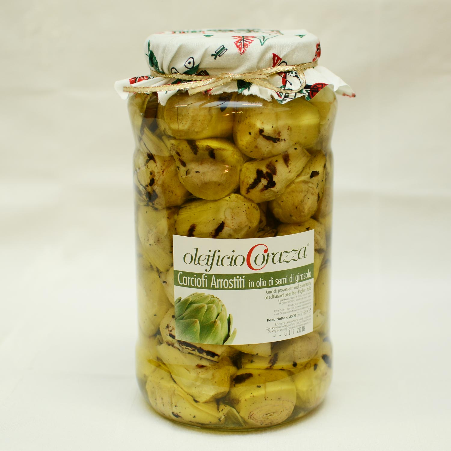 4 - Carciofi arrostiti in olio di semi - g 3000