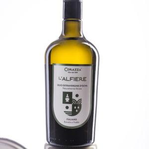 "IMG 0030 2ok 300x300 - Olio extravergine di oliva ""Alfiere"" - Bottiglia 0,75L"