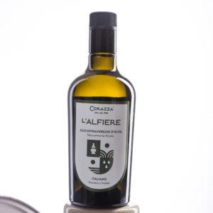 "IMG 0046 2ok 300x300 - Olio extravergine di oliva ""Alfiere"" - Bottiglia 0,50L"
