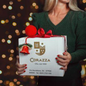 cesto natalizio corazza